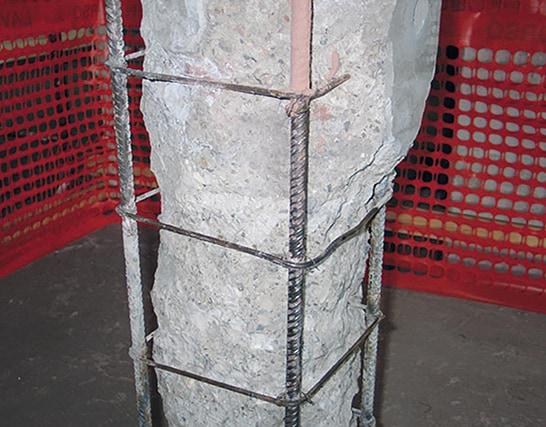 Come rinforzare meccanicamente un pilastro per murature in cemento armato